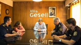 EL SUPERINTENDENTE REGIONAL DE POLICIA VISITO VILLA GESELL